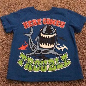 Garanimals Blue Shark Tee Shirt